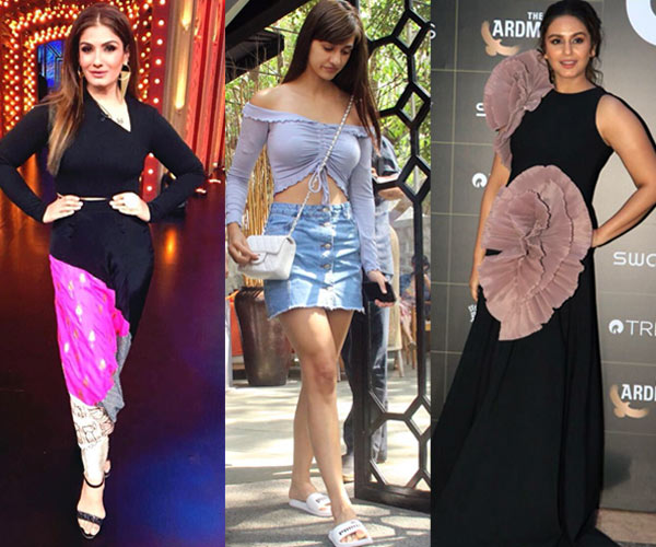 Disha Patani, Raveena Tandon, Huma Qureshi wore disastrous outfits and landed in the worst dressed category