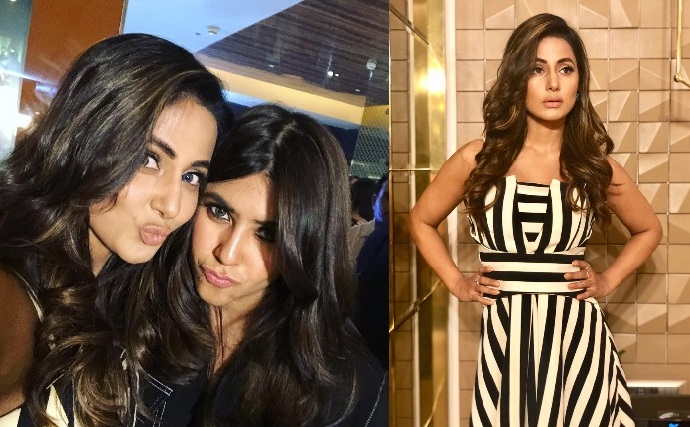 Hina Khan, Erica Fernandes and Parth Samthaan bond at Ekta Kapoor's Home launch party video